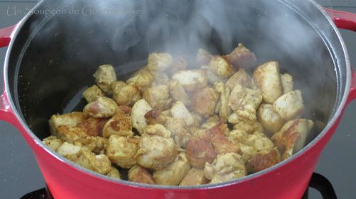 Poulet curry 9