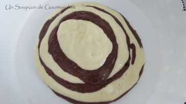 Gâteau marbré zèbre 15
