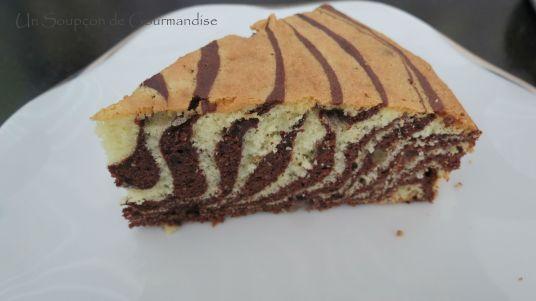Gâteau marbré zèbre 19