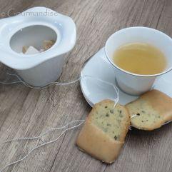 Sablés sachets de thé