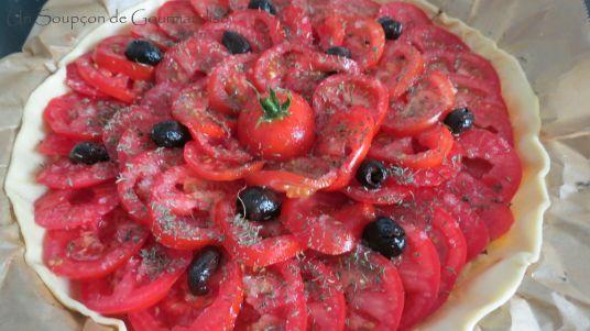 Tarte aux tomates et amandes 15