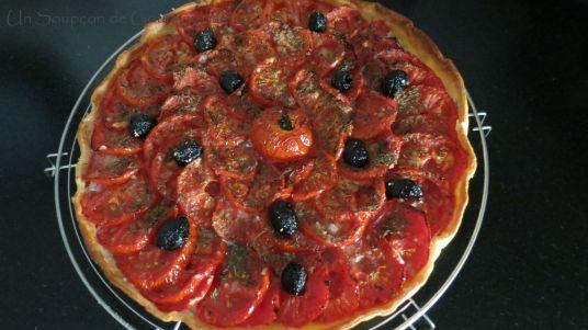 Tarte aux tomates et amandes 17