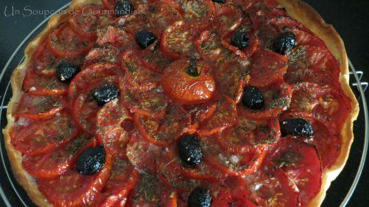 Tarte aux tomates et amandes 18