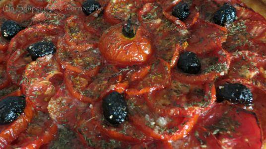 Tarte aux tomates et amandes 20