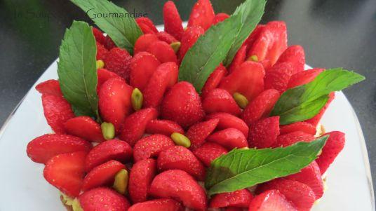 Tarte aux fraises 30