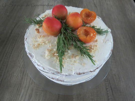 Gâteau abricot-romarin 42