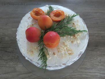Gâteau abricot-romarin 43