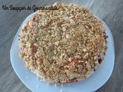 Gâteau aux quetsches & crumble